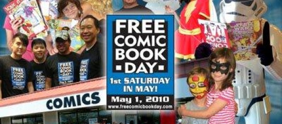 Tomorrow is Free Comic Book Day!