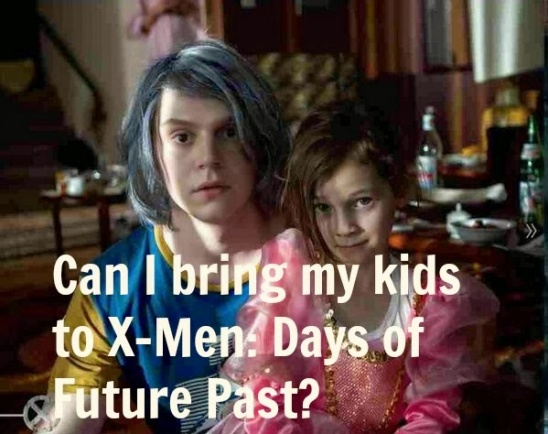Parents' Guide: Can I take my kids to X-Men: Days of Future Past