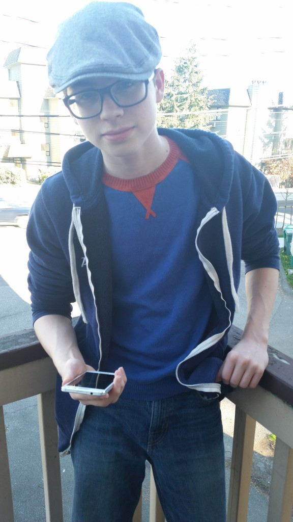 Nathan with Galaxy Alpha